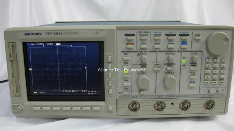Tektronix Tds684a Alliance Test Equipment